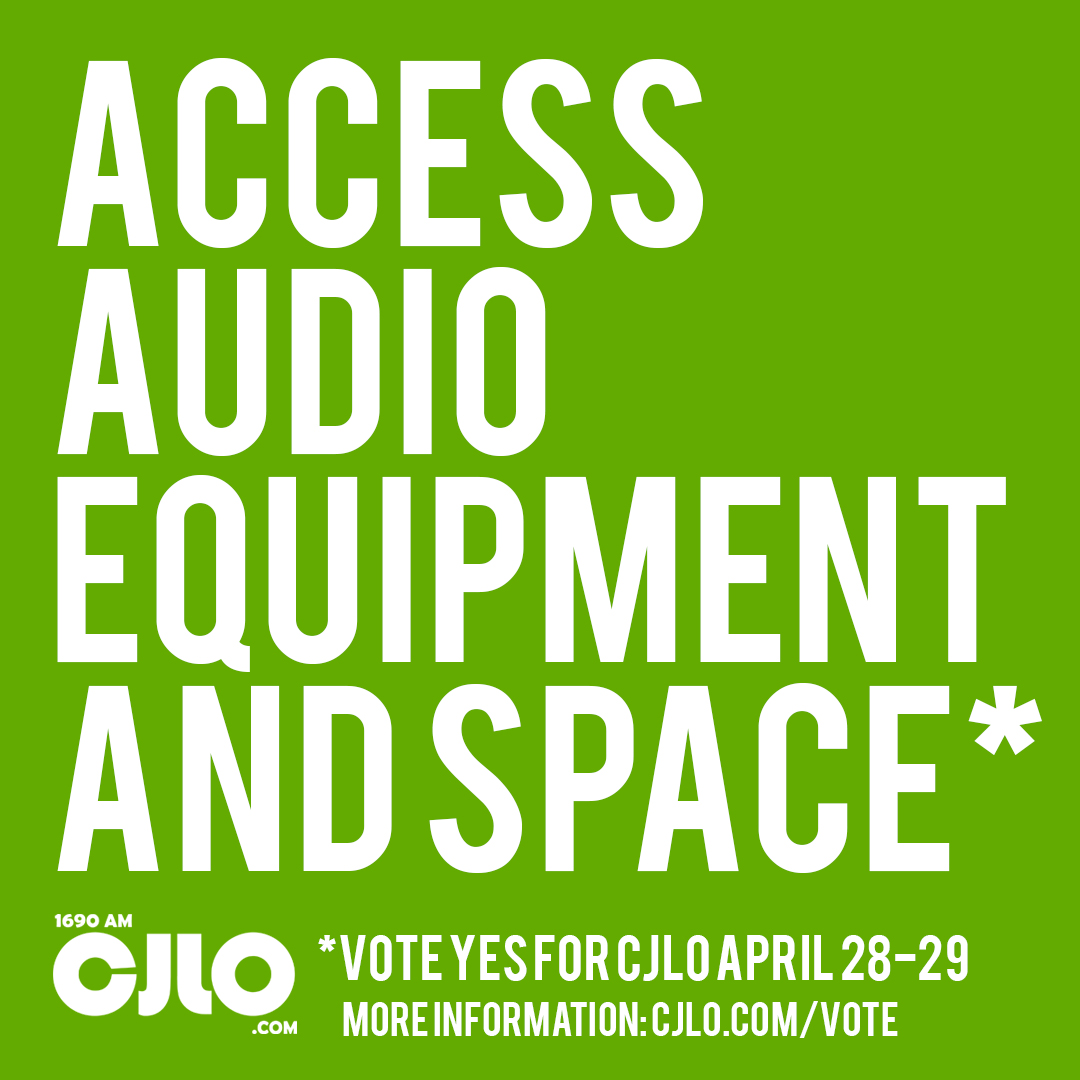 CJLO offers resources to students to develop their projects and ideas